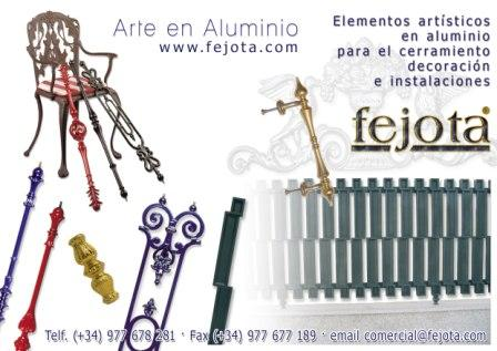 Forja Aluminio Fejota