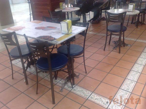 Mesas de aluminio fundido