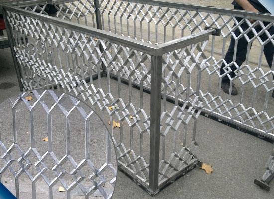 Restauracion celosias barandillas de aluminio - Barandilla de aluminio ...