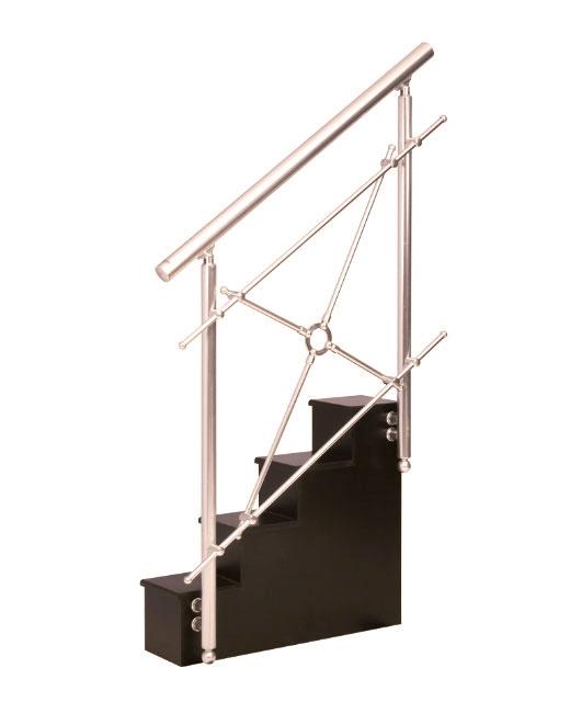 Escaleras inox barandillas de aluminio - Barandilla de aluminio ...