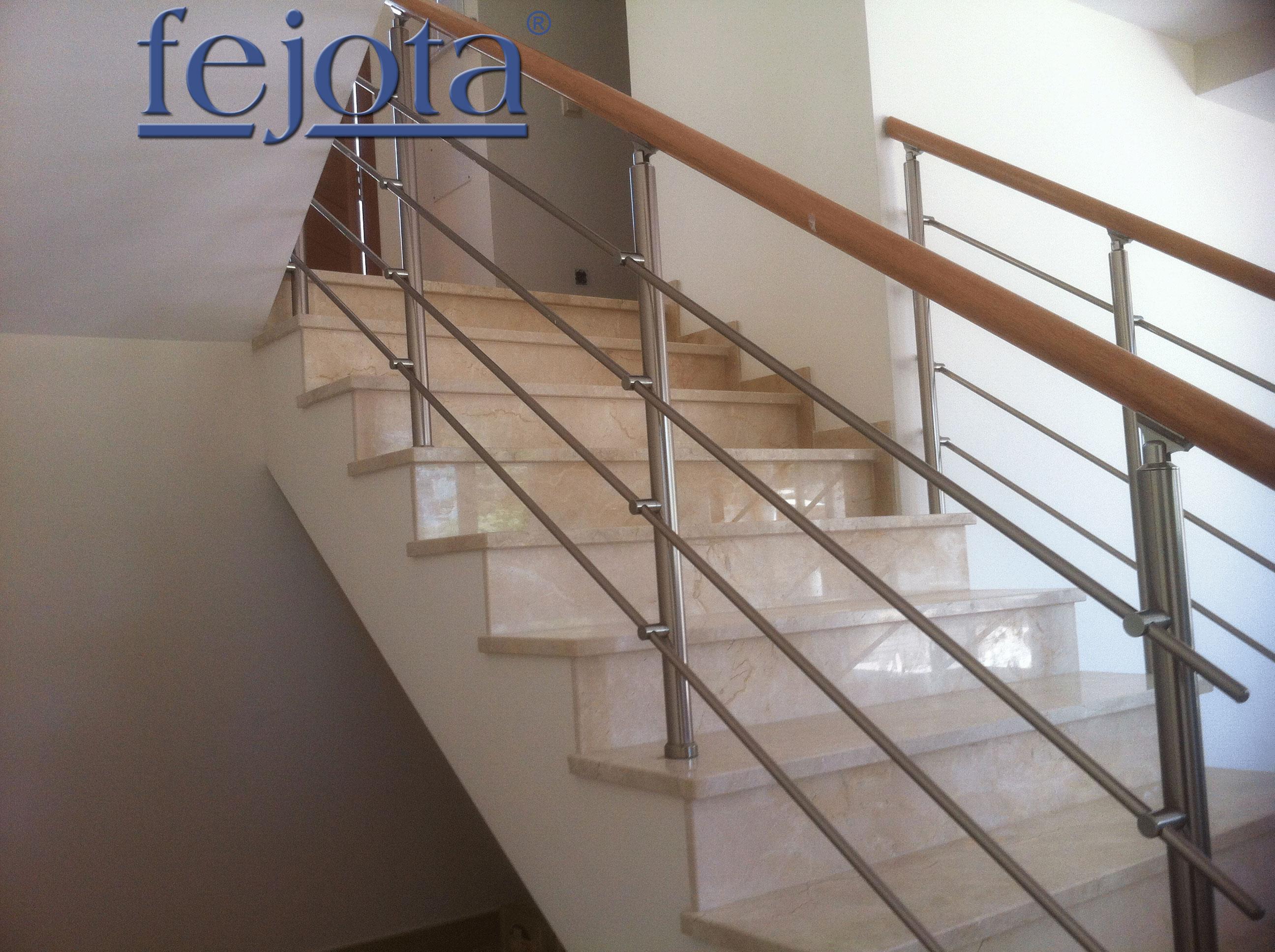 Barandillas escalera barandillas de aluminio - Barandillas de escaleras interiores ...