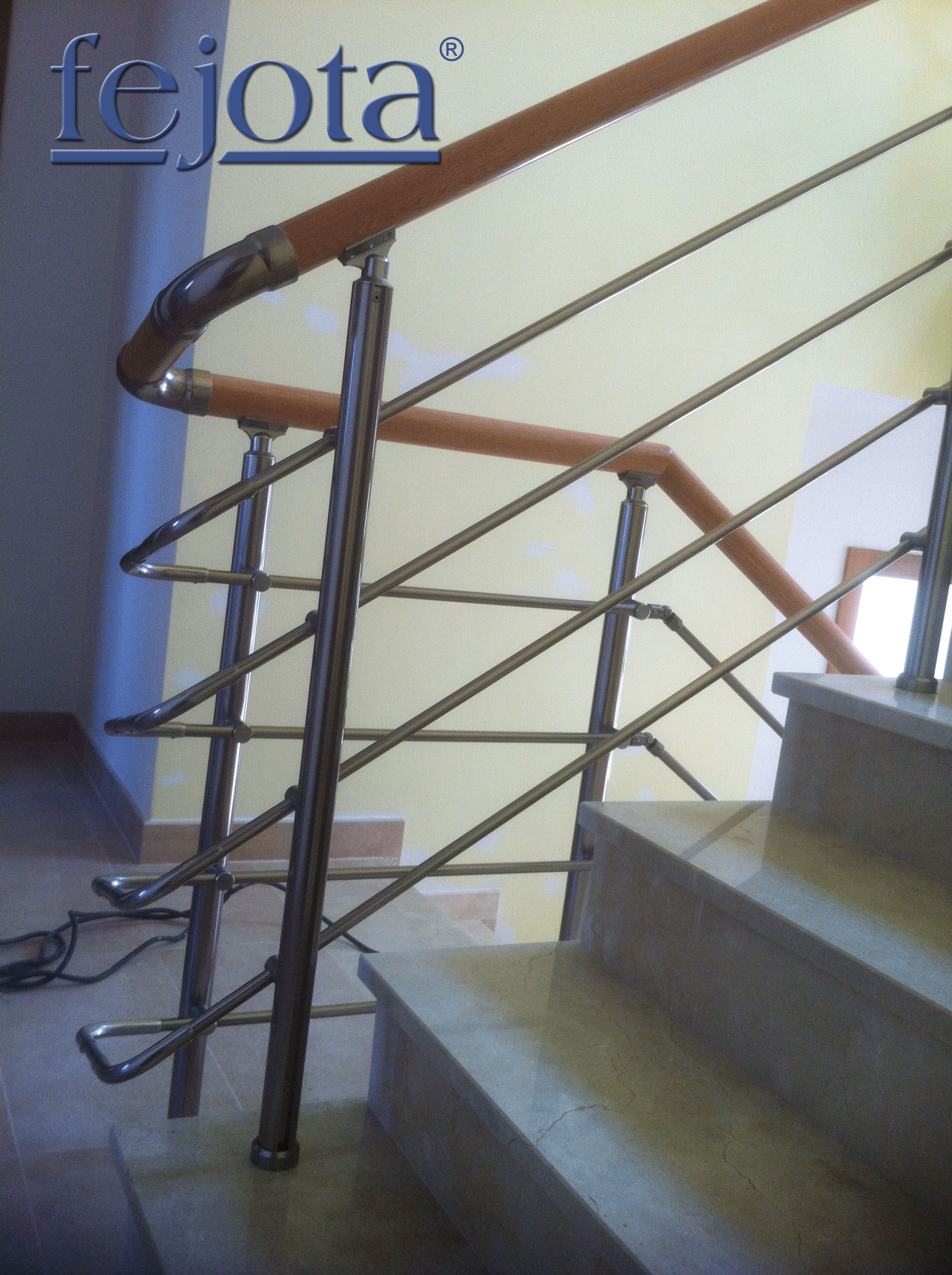 Escaleras inox barandillas de aluminio - Barandilla de escalera ...