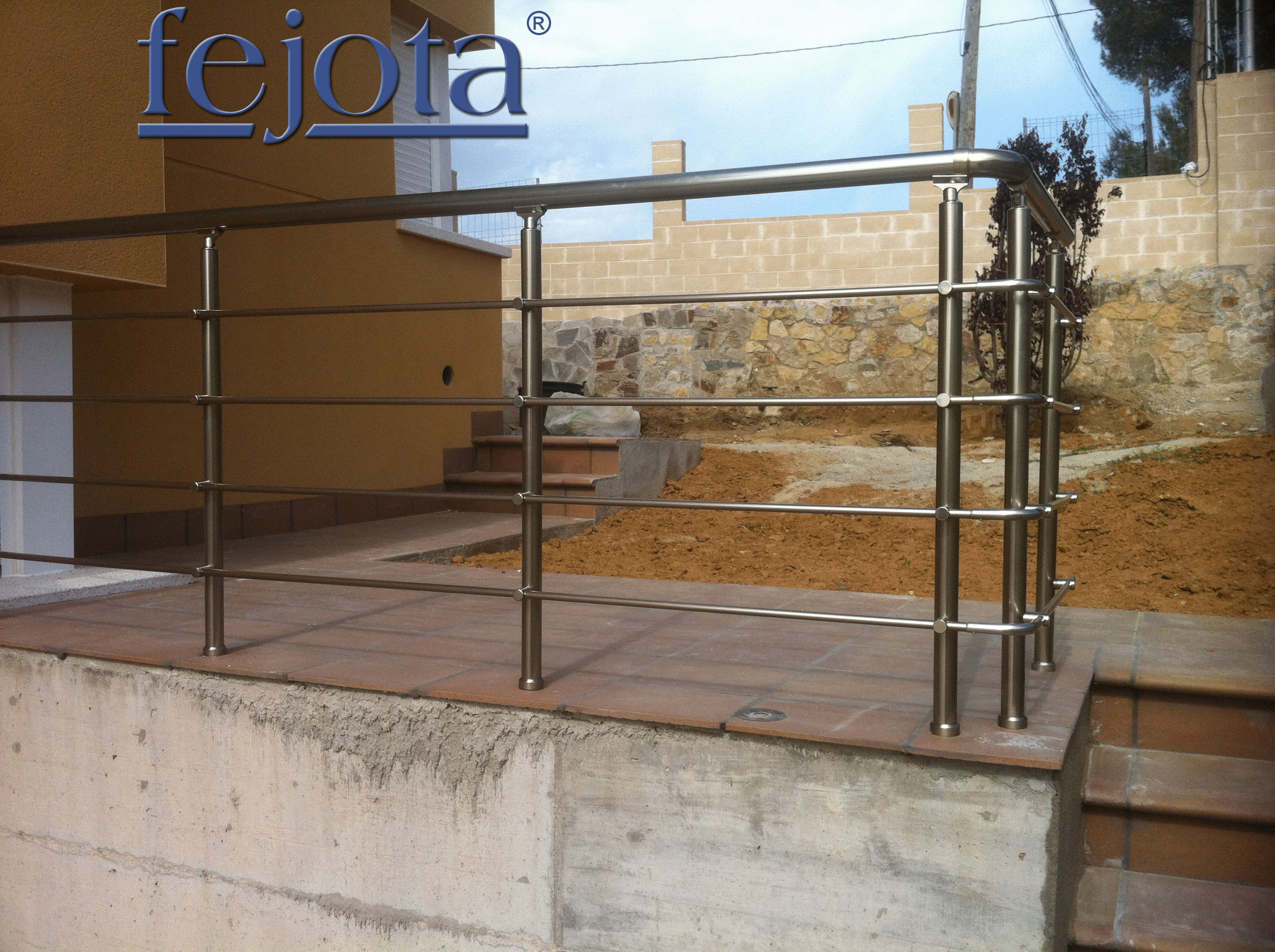Barandillas inoxidable barandillas de aluminio - Barandilla de madera exterior ...